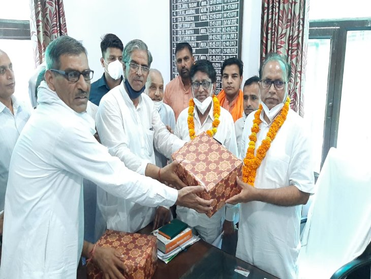 BJP में बढ़ता कद नहीं आ रहा था भाजपाइयों को ही रास, अजय जांगड़ा को उपप्रधान बनाकर दे दी सबको मात|हरियाणा,Haryana - Dainik Bhaskar