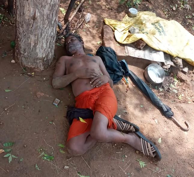 भीलवाड़ा में बिजली गिरने से व्यक्ति की मौत।