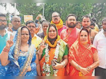 अनुपस्थित रहे पार्षद: लक्ष्मी राय, गीता देवी, बिपिन बिहारी सिंह, गोपाल राम। - Dainik Bhaskar