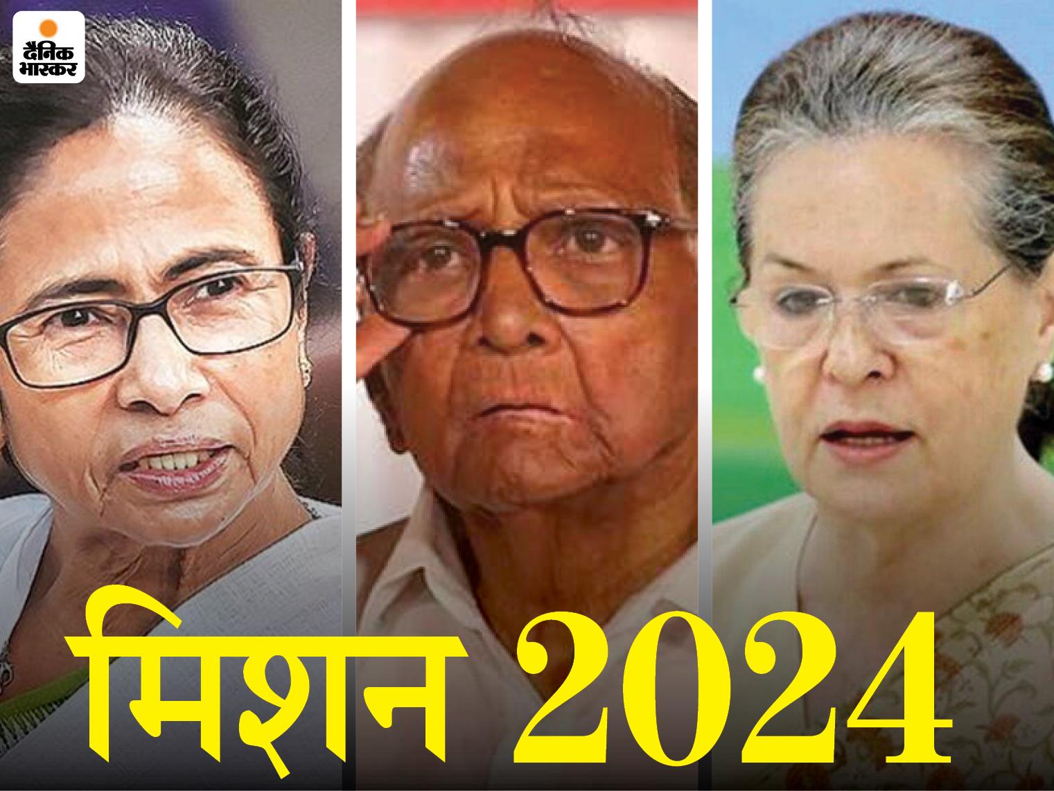 ममता 25 जुलाई से दिल्ली दौरे पर; सोनिया, पवार समेत विपक्षी नेताओं से मुलाकात करेंगी|देश,National - Dainik Bhaskar