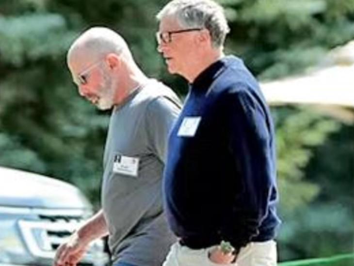 बिल गेट्स ने कहा- मेलिंडा से तलाक के लिए वे खुद जिम्मेदार, सनवैली में बात करते वक्त रुआंसे हो गए|विदेश,International - Dainik Bhaskar