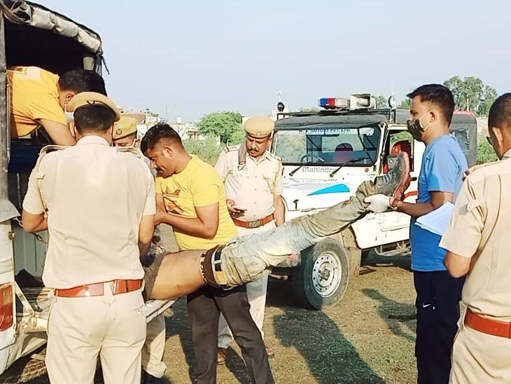 पुलिस ने मृतक के परिजनों को सूचना दी। शव को हॉस्पिटल मोर्चरी में रखवाया।