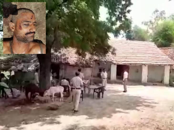 रातभर से लापता बेटा नशे में धुत होकर सुबह घर लौटा; छप्पर पर चढ़कर खपरैल तोड़ने लगा तो पिता ने गुस्से में मारा लट्ठ, मौत रीवा,Rewa - Dainik Bhaskar