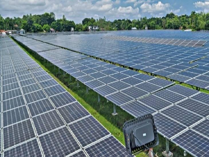 550 मेगावाट सोलर परियोजना की दो यूनिटों के लिए दो कंपनियाें का सिलेक्शन; 2.45 रुपए प्रति यूनिट पड़ेगी बिजली|जबलपुर,Jabalpur - Dainik Bhaskar