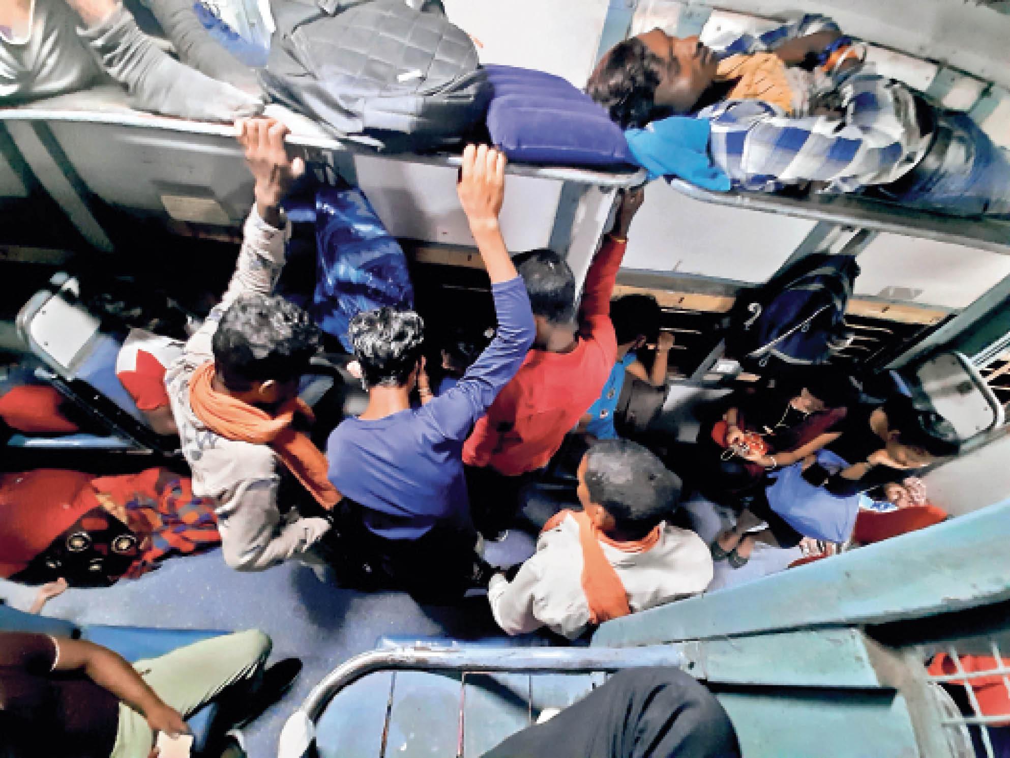 केंद्र की चिट्ठी लापरवाही से बढ़ रहा खतरा; राजधानी के बाजार और स्टेशन में बेतरतीब भीड़|रायपुर,Raipur - Dainik Bhaskar