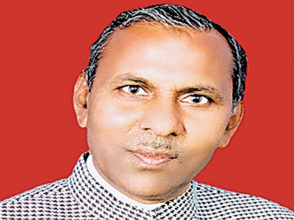 विधायक मेवाराम जैन। - Dainik Bhaskar