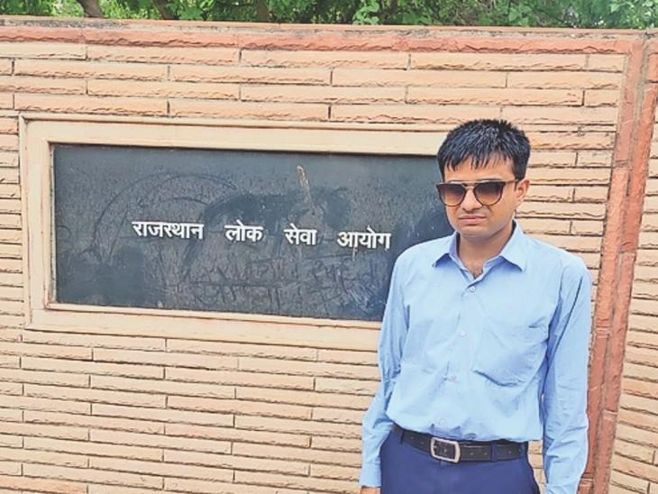 जयनीत पाठक, डिसएबल रैंक-1 - Dainik Bhaskar