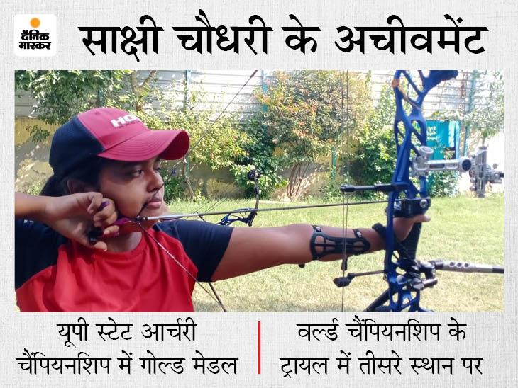 ट्रायल के लिए मां के गहने बेचकर धनुष और प्रत्यंचा खरीदे, दोस्त ने दिए तीर; अब देश का प्रतिनिधित्व करने को तैयार स्पोर्ट्स,Sports - Dainik Bhaskar