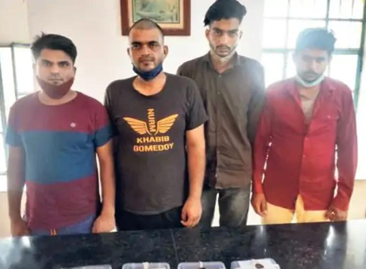 जयपुर में तीन दिन नकली नोट के साथ पकड़े गए चार युवकों से मिला सरगना ब्रजेश का सुराग