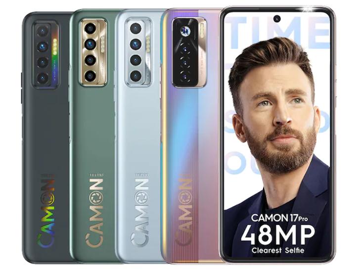 कंपनी ने कैमन 17 और 17 प्रो लॉन्च किए, इमें 64MP क्वाड कैमरा मिलेगा; लॉन्चिंग ऑफर में 1999 के बड्स फ्री|टेक & ऑटो,Tech & Auto - Dainik Bhaskar