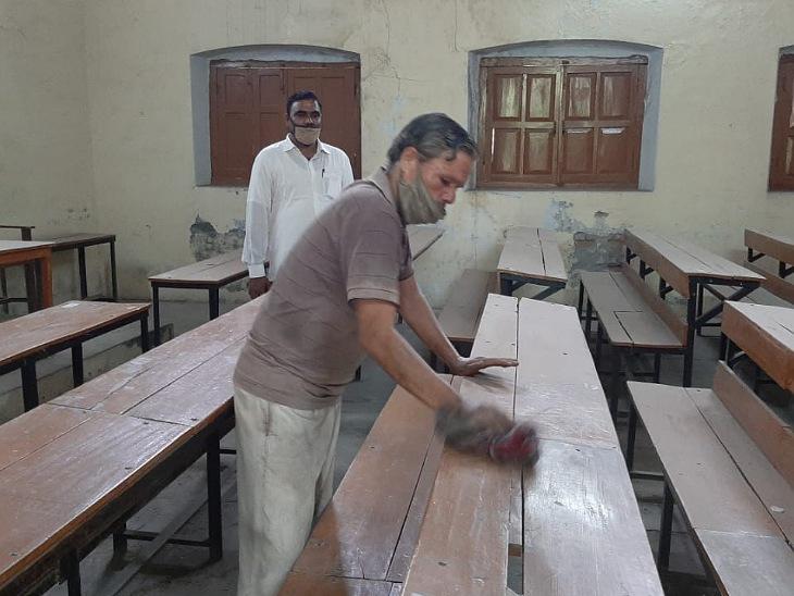 विवि की परीक्षाएं दो साल बाद 15 जुलाई से शुरू होने जा रही हैं। इसके लिए तैयारियां पूरी कर ली गई हैं। - Dainik Bhaskar