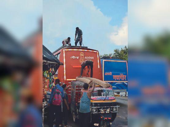 दो नंबर का माल दिल्ली, मुंबई पहुंचाने के लिए बना लिया काेड वर्ड, कच्ची गाड़ी, कबूतर बोलने पर ही कटता है बिल|भीलवाड़ा,Bhilwara - Dainik Bhaskar