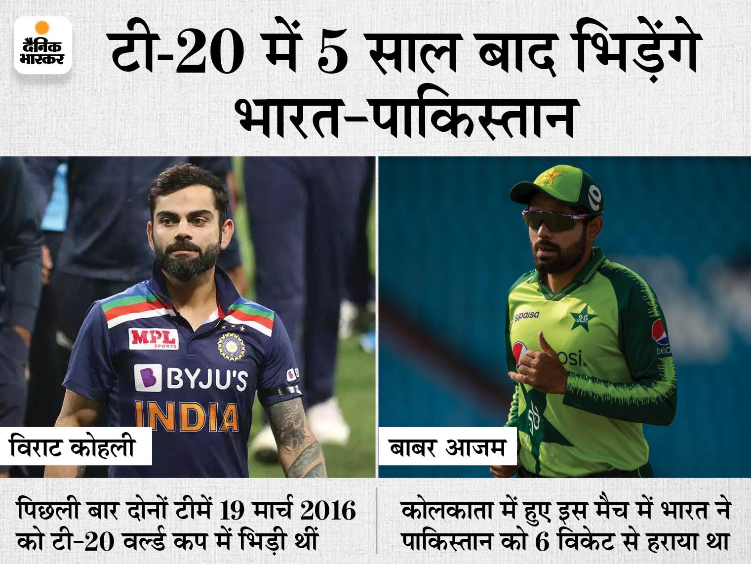 ICC ने टी-20 वर्ल्ड कप के ग्रुप की घोषणा की, भारत के ग्रुप में न्यूजीलैंड और अफगानिस्तान भी मौजूद|स्पोर्ट्स,Sports - Dainik Bhaskar