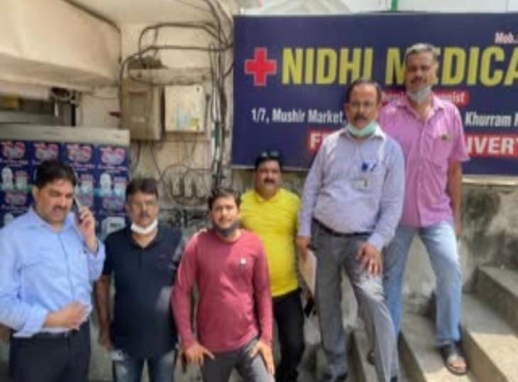 वेब सीरीज टीम के सदस्यों के संपर्क में रहे लोगों की कोविड रिपोर्ट नेगेटिव,मुम्बई से शूटिंग करने लखनऊ आई टीम के 5 सदस्य गुरुवार को पाएं गए थे कोरोना संक्रमित|लखनऊ,Lucknow - Dainik Bhaskar
