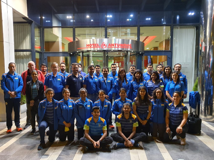 शूटिंग टीम जग्रेब से एम्सटर्डम के लिए रवाना, वहां से टोक्यो जाएगी; वेटलिफ्टर मीराबई चानू भी यूएस से टोक्यो के लिए रवाना|स्पोर्ट्स,Sports - Dainik Bhaskar