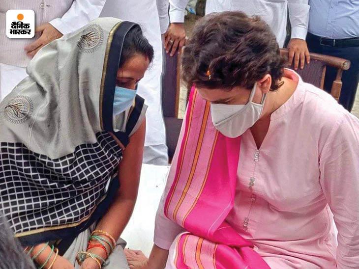 प्रियंका गांधी ने महिलाओं से सीधे संवाद किया, ताकि वो बिना झिझके अपनी बात कह सकें।
