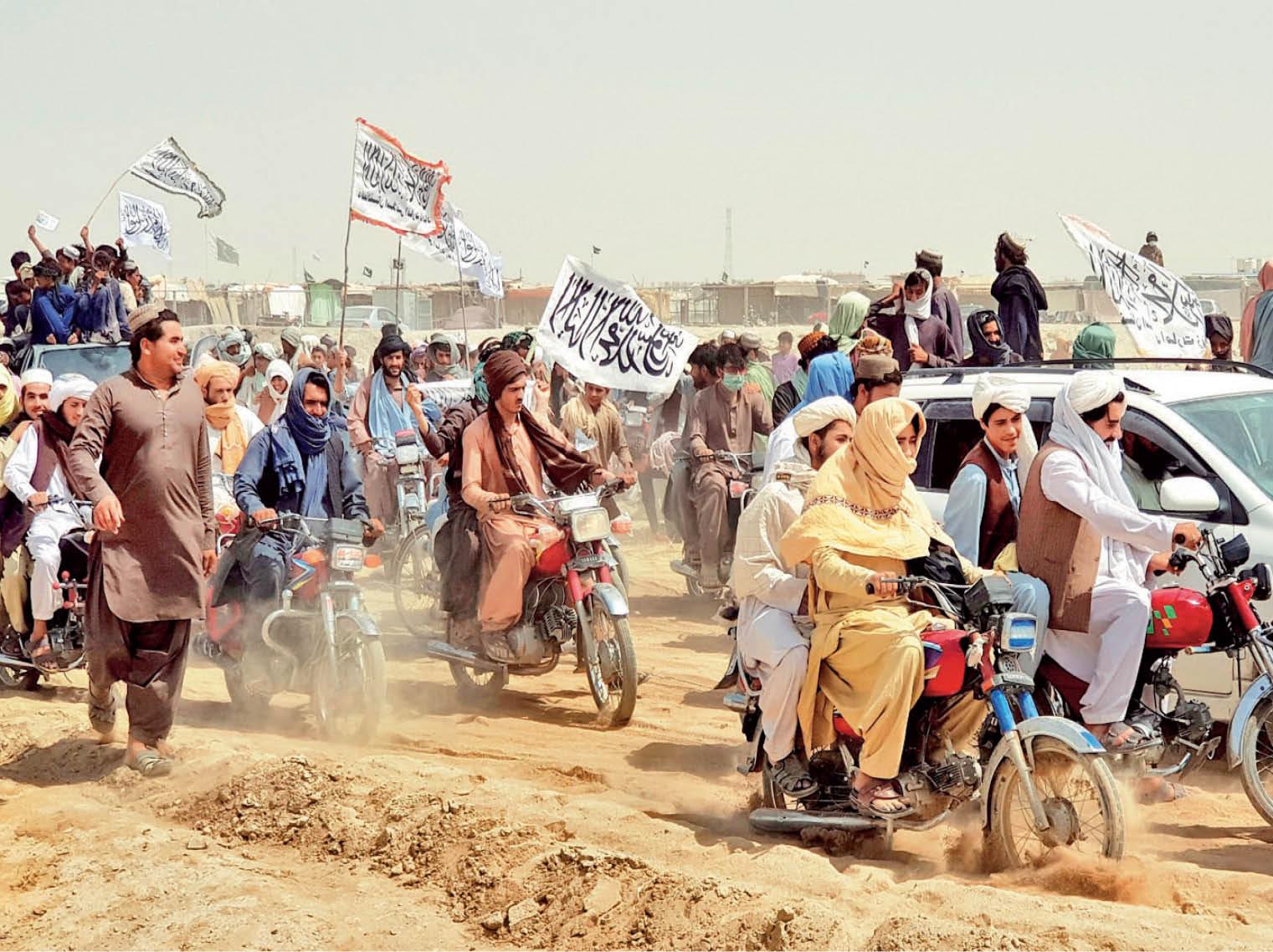 उपराष्ट्रपति अमरुल्ला सालेह का आरोप- तालिबान को हवाई सहायता और अफगान को चेतावनी दे रहा पाकिस्तान|विदेश,International - Dainik Bhaskar