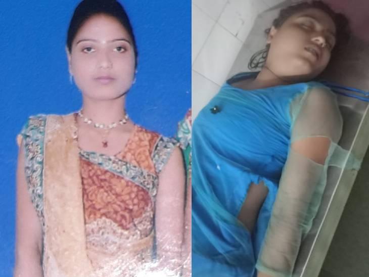 सेल्फी लेने के चक्कर में नाव पलटने से रतन कुमारी और नंदन की मौत हो गई।