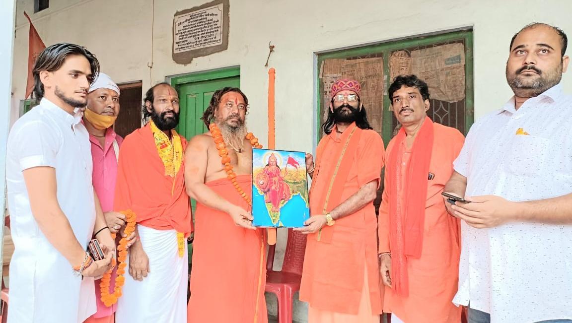 परमहंस दास ने कहा कि अगर अक्टूबर तक भारत को हिंदू राष्ट्र घोषित नहीं किया गया तो सरयू में जल समाधि ले लूंगा। - Dainik Bhaskar