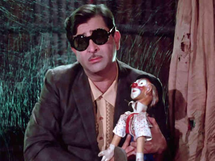 'जाने कहां गए वो दिन' गीत के एक दृश्य में राजकपूर। - Dainik Bhaskar