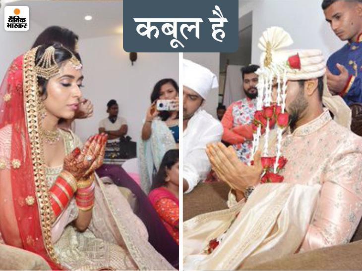 टीम इंडिया के ऑलराउंडर ने गर्लफ्रेंड अंजुम खान से मुस्लिम रीति-रिवाज से शादी की; सोशल मीडिया पर लिखा- जस्ट मैरिड|क्रिकेट,Cricket - Dainik Bhaskar