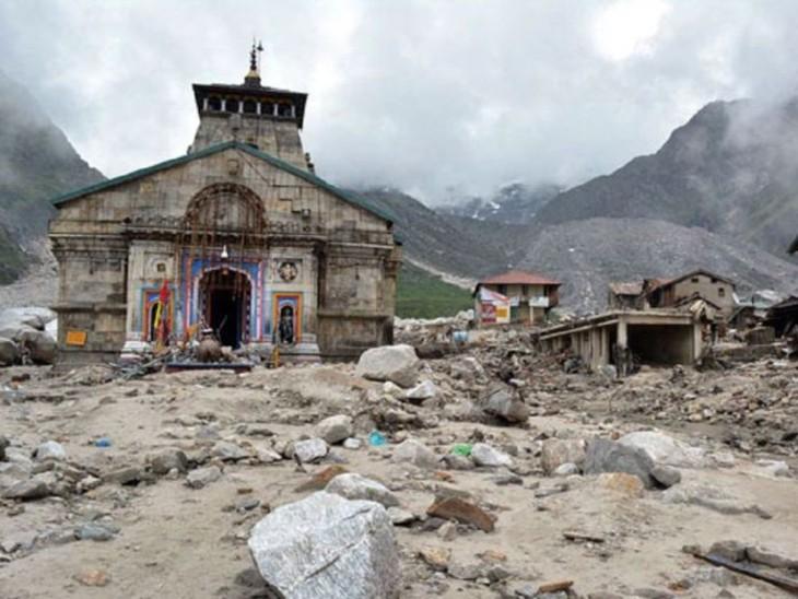उत्तराखंड में केदारनाथ जैसी आपदा का खतरा बढ़ा; 308 गांवों का विस्थापन अटका, कई इलाकों में बारिश का यलो अलर्ट जारी|देश,National - Dainik Bhaskar