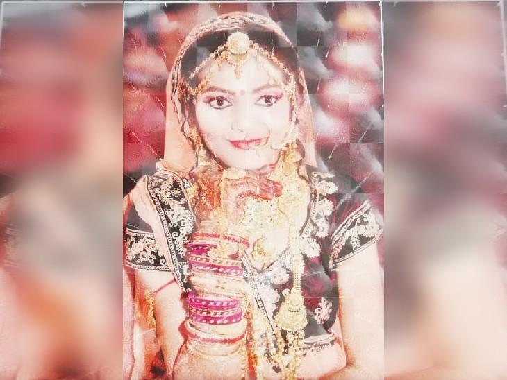 प्रयागराज में पिछले साल हुई थी दोनों की शादी, 2 महीने से मायके में थी; रात में फोन पर हुआ झगड़ा, सुबह फंदे से लटकी मिली प्रयागराज,Prayagraj - Dainik Bhaskar