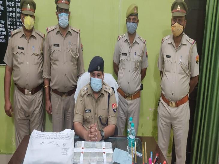 संभल में सपा के पूर्व विधायक के घर हुई 50 लाख की लूट का खुलासा, पुलिस ने दोनों ड्राइवर के घर से 47.88 लाख बरामद किए|मुरादाबाद,Moradabad - Dainik Bhaskar