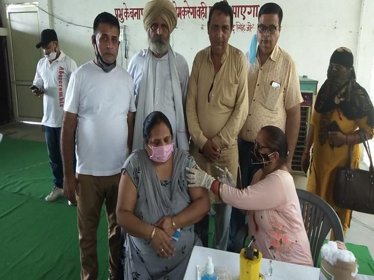 3777 ने किया खुद को सुरक्षित, सुखद; कोरोना का मात्र एक केस आया|पानीपत,Panipat - Dainik Bhaskar