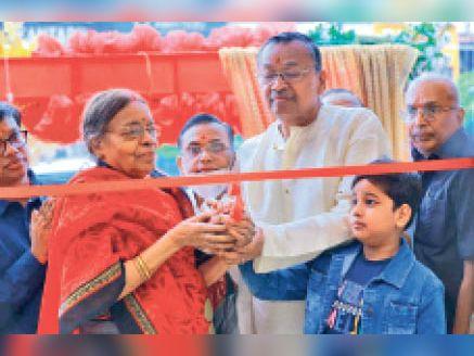 कंकड़बाग में सागरमल ज्वेलर्स का अभिनेत्री रवीना टंडन ने किया वर्चुअल उद्घाटन|पटना,Patna - Dainik Bhaskar