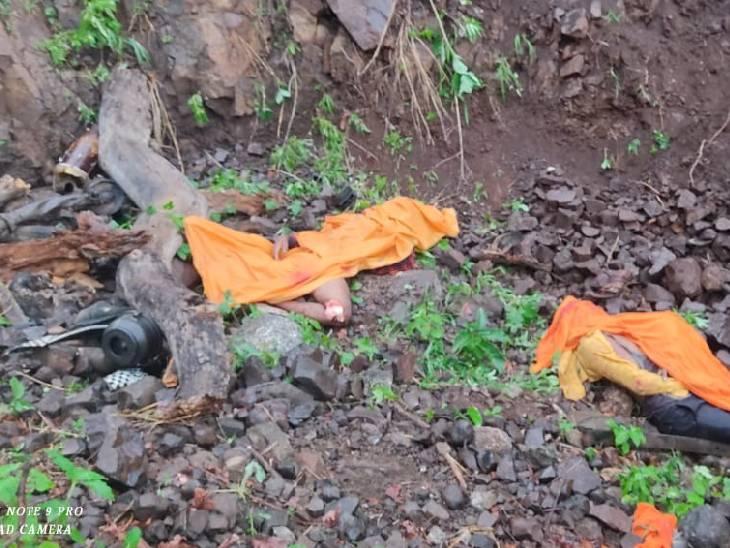 महाराष्ट्र के तोरणताल में यात्रियों से भरी जीप खाई में गिरी; बड़वानी के 8 लोगों की मौत,15 घायल|बड़वानी,Barwani - Dainik Bhaskar