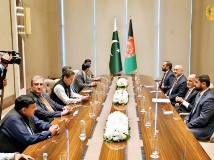 राष्ट्रपति अशरफ गनी बोलेे- इमरान और उनके जनरल तालिबान का पक्ष लेते रहे, विवाद के बाद शांति सम्मेलन टला|विदेश,International - Dainik Bhaskar