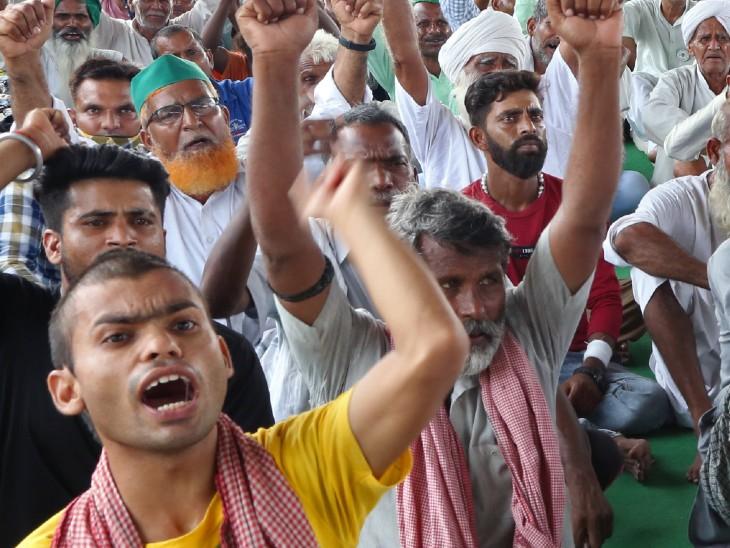 किसान नेताओं का ऐलान- मानसून सत्र तक हर रोज 200 किसान संसद पर धरना देंगे, दिल्ली में 7 मेट्रो स्टेशन अलर्ट पर|गाजियाबाद,Ghaziabad - Dainik Bhaskar