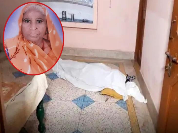 झांसी में ताला तोड़कर घर के अंदर गई बेटी, कमरे में मां की लाश देख रह गई दंग; मुंह बंधा था-शरीर पर थे चोट के निशान|झांसी,Jhansi - Dainik Bhaskar