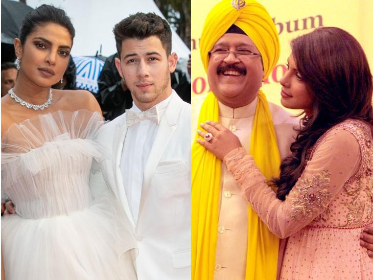 प्रियंका चोपड़ा ने निक जोनास को बताया अपने दिवंगत पिता की 'छवि', बोलीं- वे दोनों बहुत स्थिर, जमीन से जुड़े हुए और भरोसेमंद हैं बॉलीवुड,Bollywood - Dainik Bhaskar