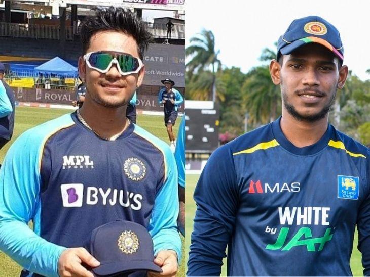 ईशान किशन और मिनोद भानुका। दोनों वनडे में अपनी-अपनी टीमों के 25वें विकेटकीपर बने हैं।