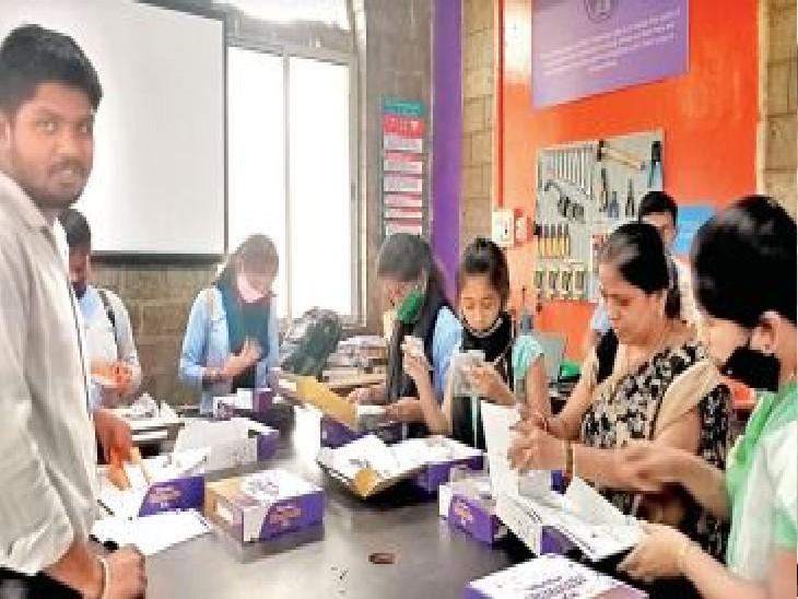 बेंगलुरू का मल्लेश्वरम सरकारी बॉयज हाई स्कूल एक मिसाल है, इसे 75 सैटेलाइट बनाने के लिए चुना गया है। - Dainik Bhaskar