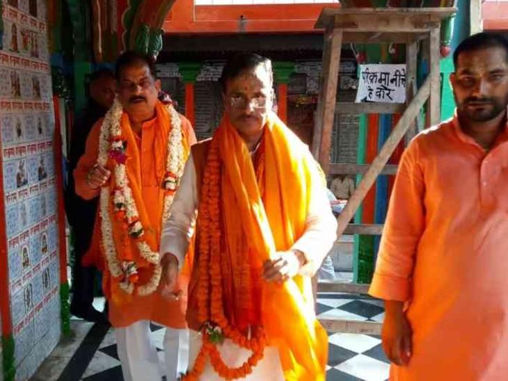 BJP से ब्राह्मणों को जोड़े रखने की जिम्मेदारी डॉ. दिनेश शर्मा के पास है।