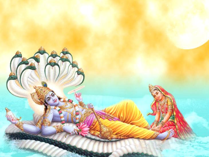 भगवान विष्णु चार मास के लिए योग निद्रा में रहेंगे, मांगलिक कार्यों पर लगेगा विराम|धर्म,Dharm - Dainik Bhaskar