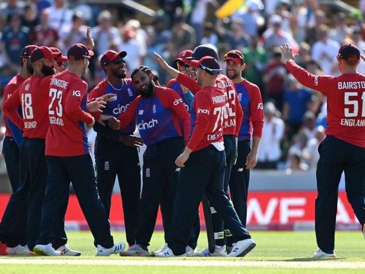 इंग्लैंड ने पाकिस्तान को दूसरे टी-20 मैच में हराकर सीरीज 1-1 की बराबरी पर की; मोईन अली मैन ऑफ द मैच|स्पोर्ट्स,Sports - Dainik Bhaskar