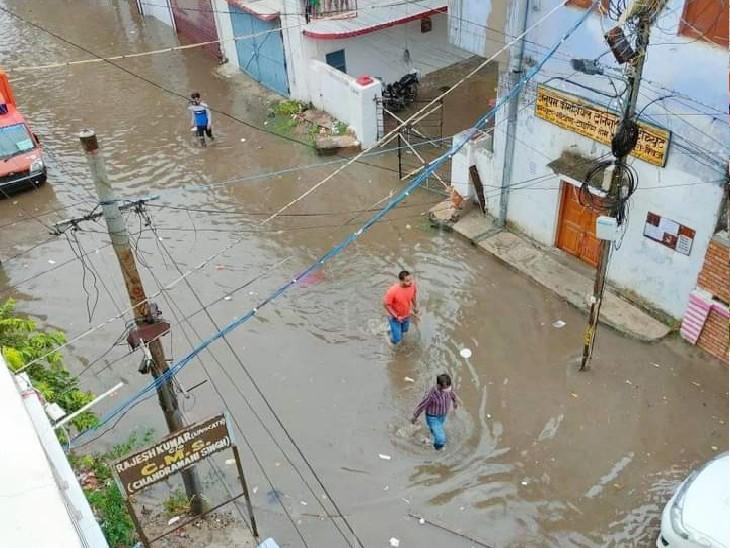 किशनगंज के बहादुरगंज में 12 सेमी, पटना एयरपोर्ट के पास 8 सेमी, जहानाबाद और घोसी में 7 सेमी हुई बारिश|बिहार,Bihar - Dainik Bhaskar