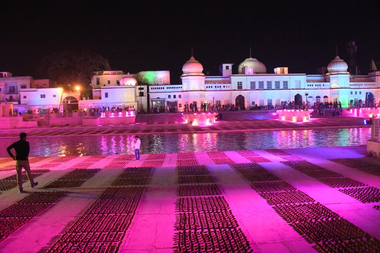 हनुमानगढ़ीका किया दर्शन-पूजन, 62 करोड़ की परियोजना की सौगात, बोले- अयोध्या विश्व स्तर पर चमकेगी|अयोध्या,Ayodhya - Dainik Bhaskar