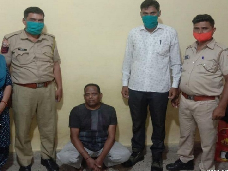 2003 से फरार बदमाश ने पुलिस से बचने के लिए धर्म बदला, नाम-पहचान छिपा कर चार मकानों में रहता था|जयपुर,Jaipur - Dainik Bhaskar