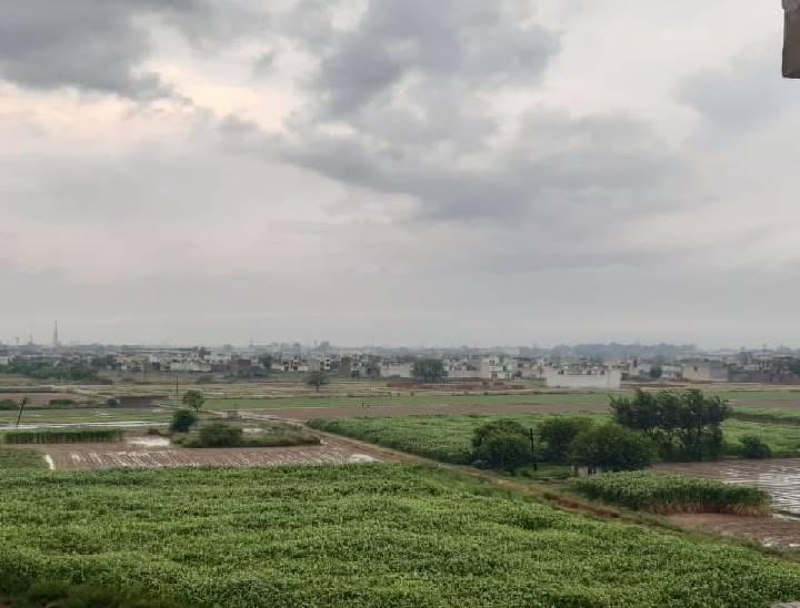 मेरठ में तेज बारिश होने से मौसम हुआ सुहाना, कई इलाकों में जलभराव और बिजली की कटौती से परेशान हुए लोग|मेरठ,Meerut - Dainik Bhaskar