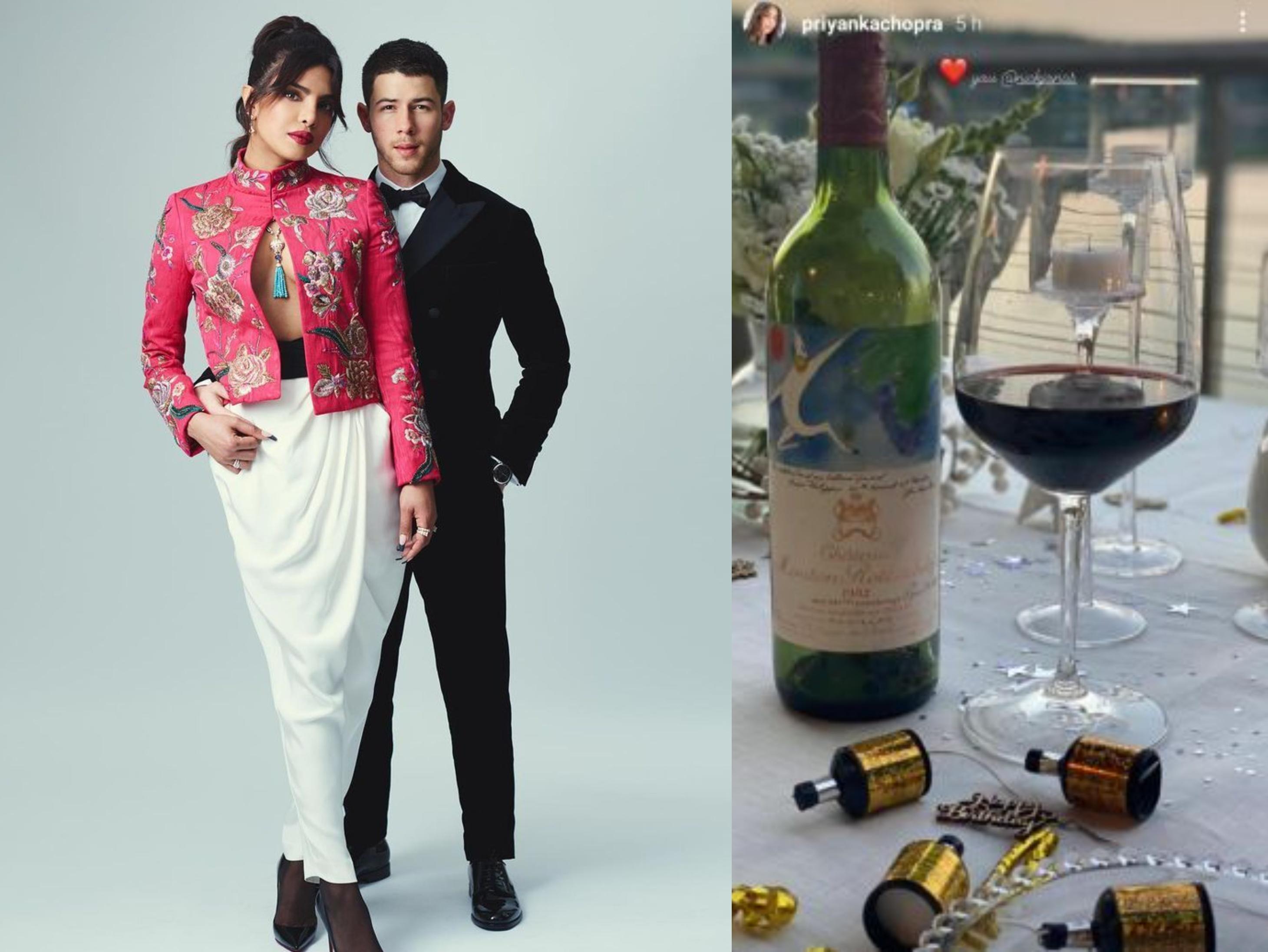गिफ्ट में 13 लाख की वाइन बॉटल, प्रियंका चोपड़ा के बर्थडे को पति निक जोनास ने बनाया सुपर स्पेशल|बॉलीवुड,Bollywood - Dainik Bhaskar