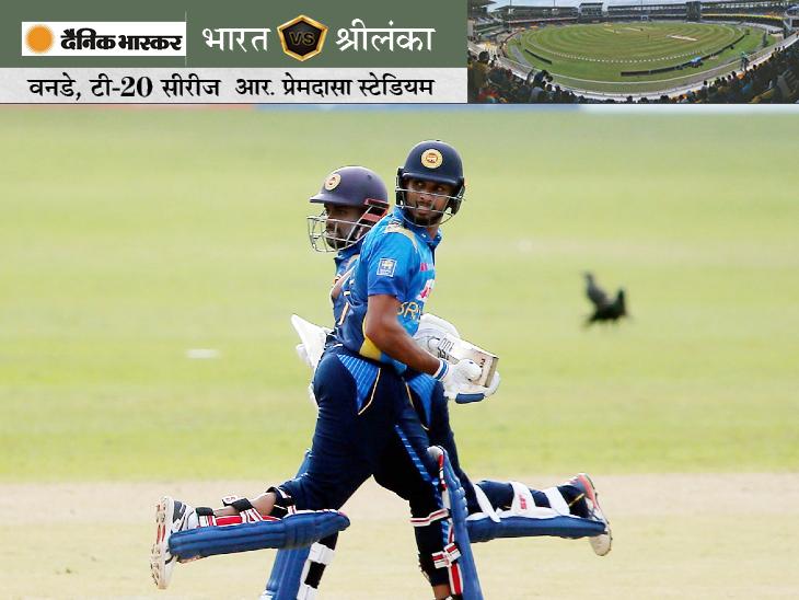 चरिथ असलंका ने कप्तान दासुन शनाका के साथ मिलकर 5वें विकेट के लिए 49 रन की पार्टनरशिप की। असलंका 38 रन और शनाका 39 रन बनाकर आउट हुए।