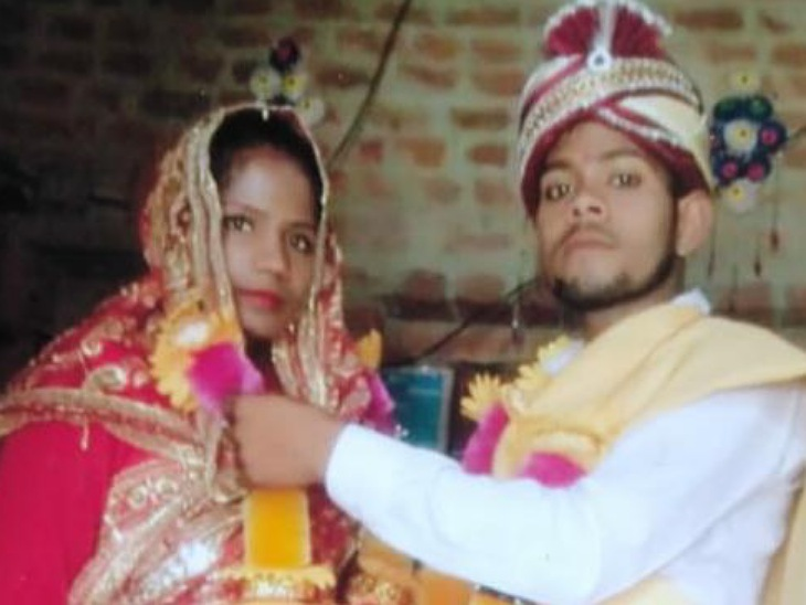 मृतका के पिता का आरोप- दहेज के लिए बेटी को मार डाला, अब उसका पति नाटक कर रहा है; 2 मई को हुई थी शादी|मुरादाबाद,Moradabad - Dainik Bhaskar