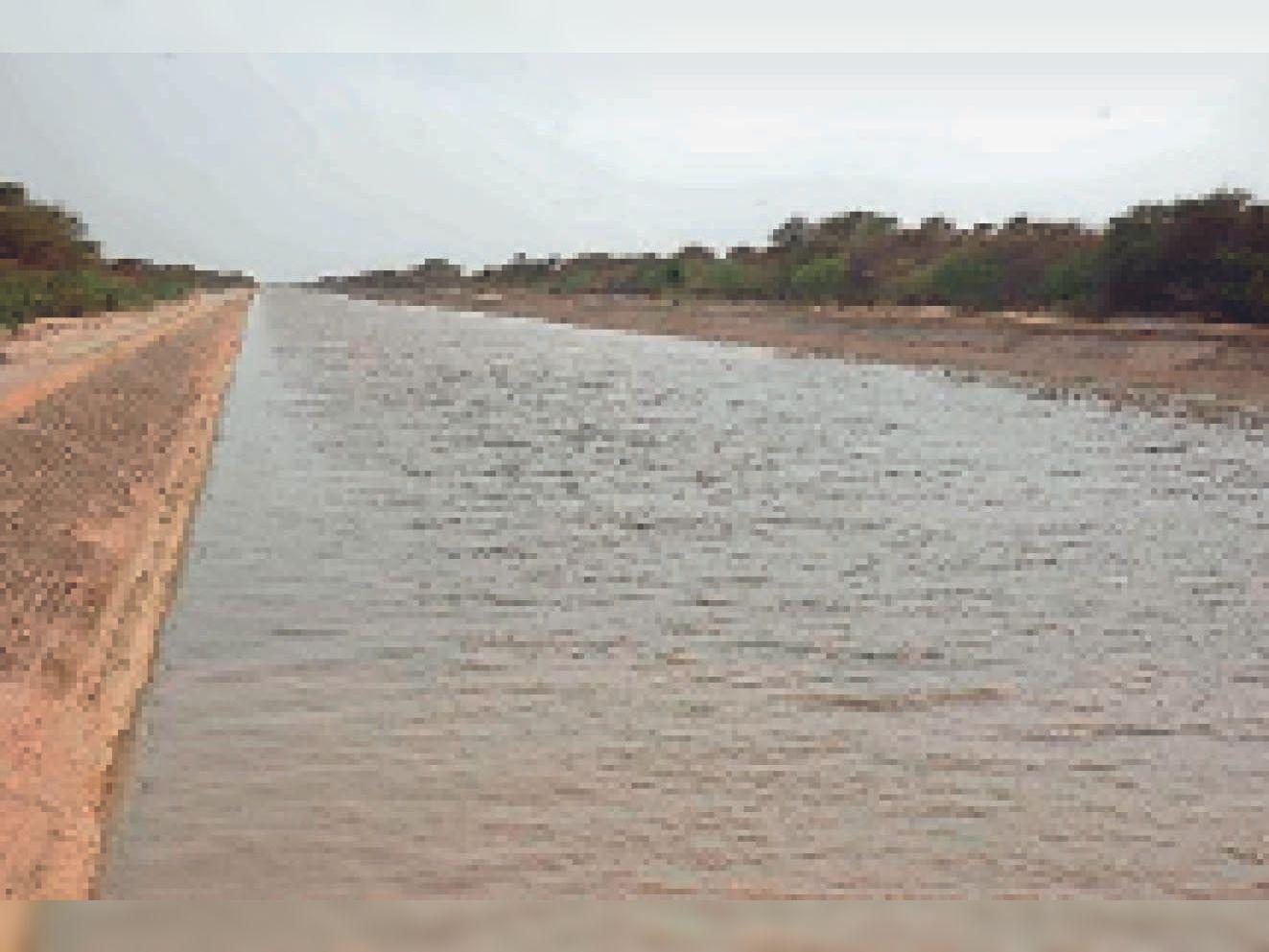 गंग कैनाल में 31 तक मिलेगा 2400 क्यूसेक पानी, एच नहर के किसानों ने अफसरों को घेरा|श्रीगंंगानगर,Sriganganagar - Dainik Bhaskar