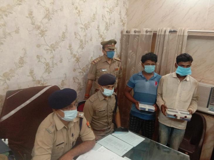 वाराणसी में लॉकडाउन के बाद काम न मिलने पर राजगीर मिस्त्री ने दोस्त के साथ शुरू की छिनैती, 19 मोबाइल संग दोनों गिरफ्तार वाराणसी,Varanasi - Dainik Bhaskar