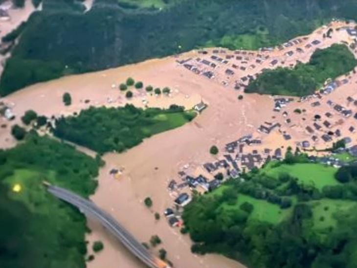 बाढ़ से 70 हजार करोड़ रुपए का नुकसान, साफ-सफाई में ही लगेंगे 8800 करोड़ रुपए|विदेश,International - Dainik Bhaskar